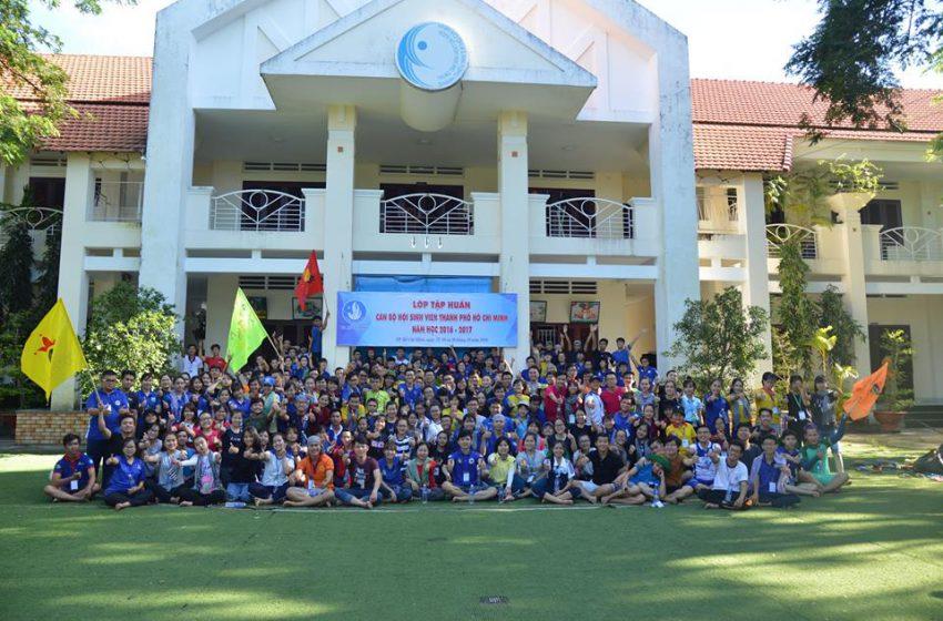 Lớp tập huấn Cán bộ Hội Sinh viên Thành phố Hồ Chí Minh năm học 2016 – 2017