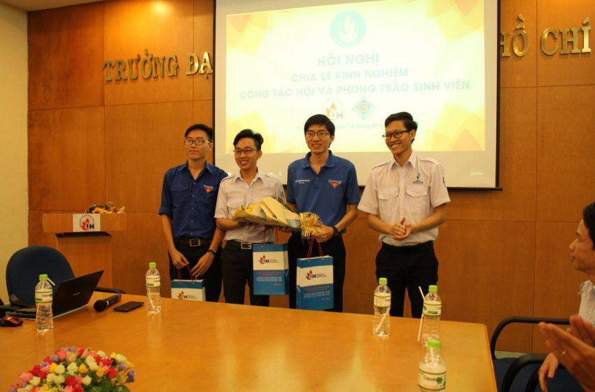 Buổi giao lưu, chia sẻ cùng đoàn đại biểu Hội Sinh viên Đại học Cần Thơ tại Đại học Công nghiệp TP.HCM