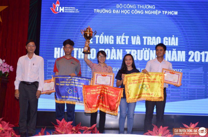 Tổng kết Hội thao toàn trường (IUH) năm 2017